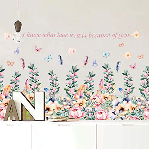 OrchidAmor Modern Style Removable Decal Art Mural Wall Sticker Home Room DIY Decor]()