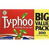 Typhoo Tea Big Value Orange Pekoe Tea, 300 Count