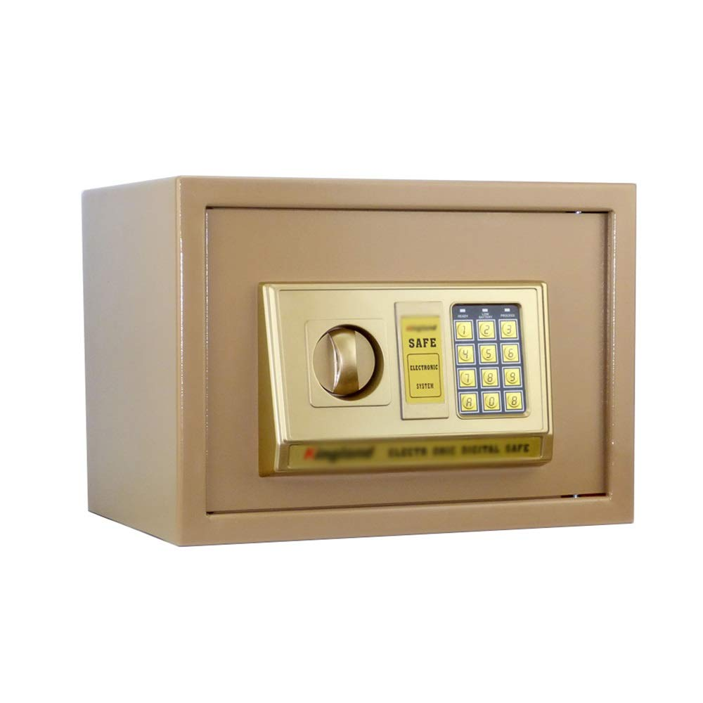 ZCF Security Safes Security Safe, Electronic Password Deposit Box Bedside Table Keypad Home Office Hotel Business Jewelry Gun Cash Use Storage (Color : Style1, Size : 380x300x300mm) by ZCF safe