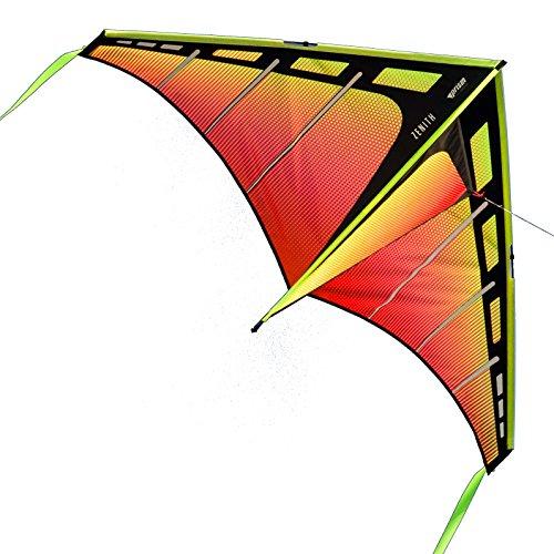 Prism Kite Technology 5ZENY Zenith 5 Single Line Delta Kite, Infrared