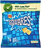 Walkers Squares Salt and Vinegar 6 Pack 150g