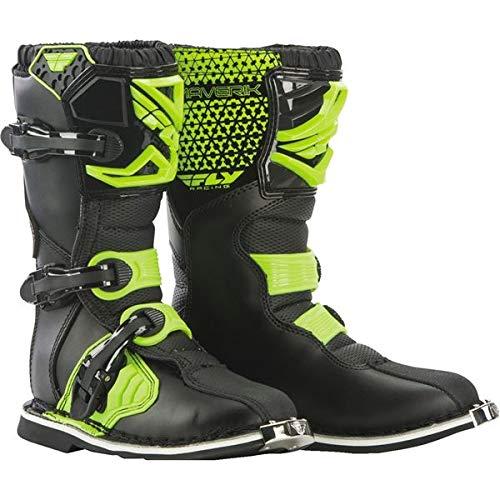 Fly Racing Unisex-Adult Maverick Mix Boots (Hi-Vis, Size 5)