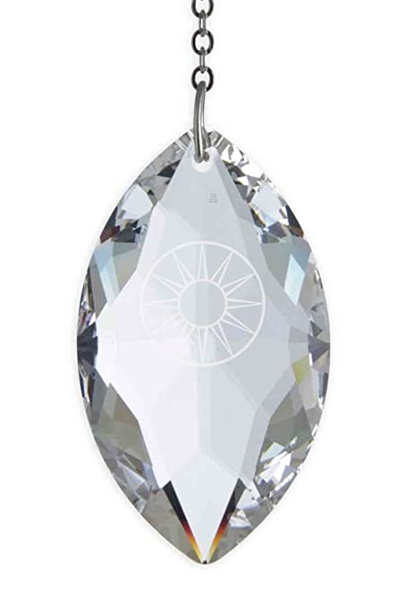 559b0e8ae Swarovski Hanging Crystal Suncatcher/Rainbow Maker with 50mm x 29mm Oval  Crystal