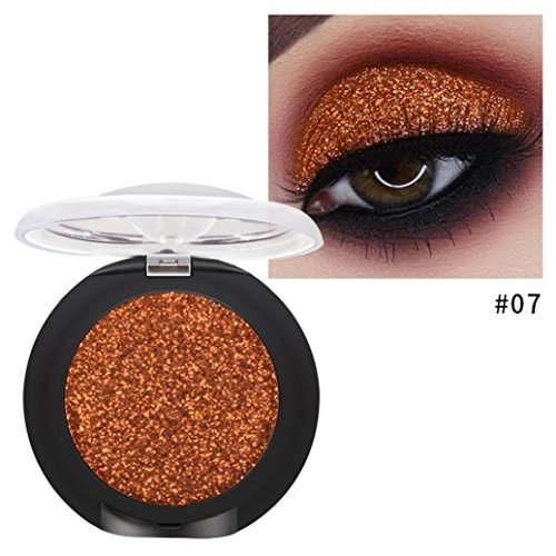 Eletty 10 Colors Metallic Shimmer And Glitter Eyeshadow Palette Urban Decay High Pigment for Beauty - 51 150 G