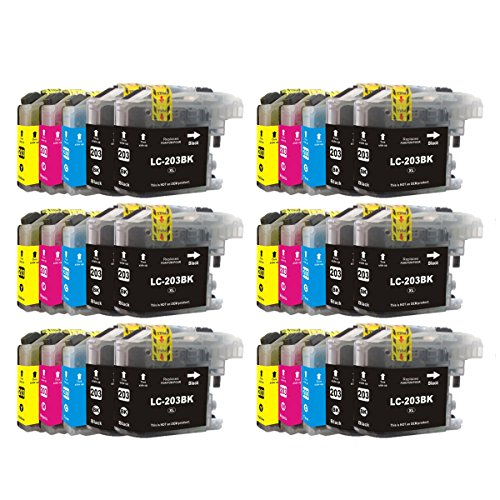 SD Toners cartucho de tinta compatible BROTHER LC203 X L LC203 XL ...