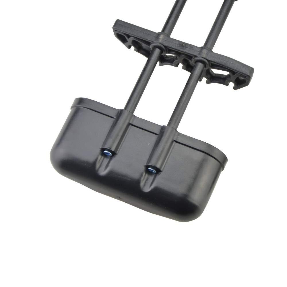 ZSHJG Carcaj de Flecha Alijaba Soporte 5-Flecha Liberaci/ón R/ápida Flecha Carcaj Caja de Almacenaje para Compuesta Arco
