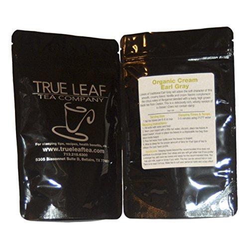 True Leaf Tea Organic Cream Earl Gray Tea 2 OZ