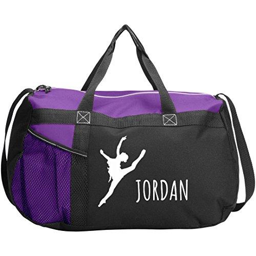 Ballet Dance Bag Gift For Jordan: Gemline Sequel Sport Duffel Bag by FUNNYSHIRTS.ORG