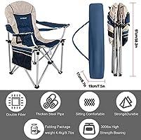 FUNDANGO - Sillas de camping plegables y resistentes con ...