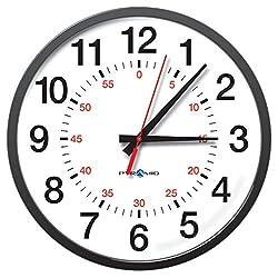 Pyramid 13 RF Wireless 12 Hour w/seconds Analog Clock (S9A3ABGBXB)