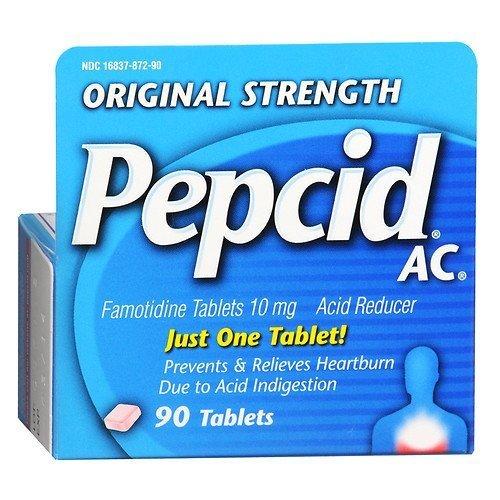 Pepcid AC Acid Reducer, Tablets 90 ea by Pepcid