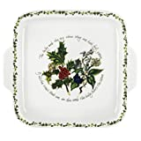 Portmeirion The Holly & The Ivy Dessert Dish Square Handled