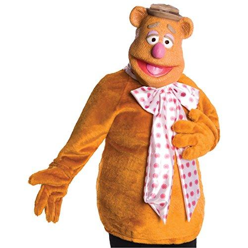 Womens Fozzie Bear Costumes (Fozzie Bear Costume - Standard - Dress Size 10-12)
