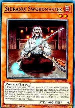 Common Shiranui Swordmaster SAST-EN018 Yugioh 1st Edition
