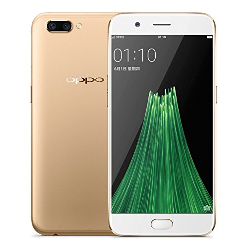 OPPO R11 5.5 Inch Smartphone Android 7.1 16.0MP + 20.0MP Dual Rear Cam + 20.0MP Front Cam Snapdragon 660 FHD Screen 4GB 64GB VOOC Flash Charge (Gold)