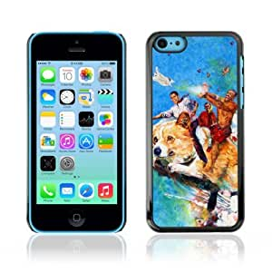 YOYOSHOP [LOL Dog Obama Rainbow] Apple iPhone 5C Case
