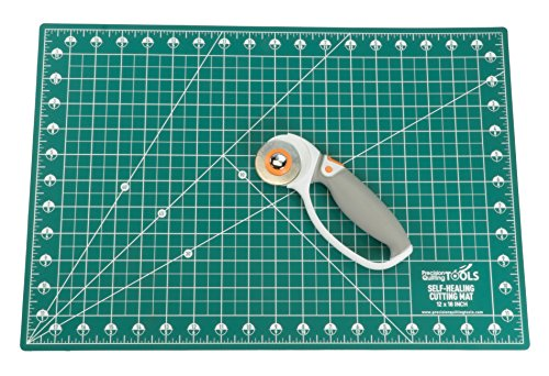 60mm Rotary Cutter Blades (Pack of 5) SKS-7 Carbide Tool Steel, Compatible with Fiskars, Olfa, Truecut. Perfect Blade for Fabric, Quilting, and Arts & Crafts