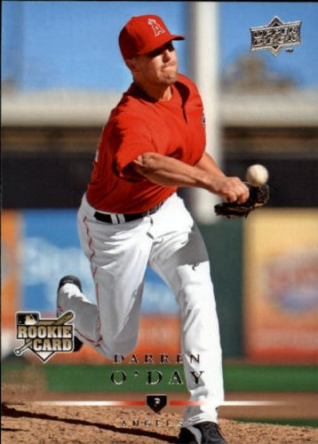 2008 Upper Deck Baseball Rookie Card #719 Darren O'Day