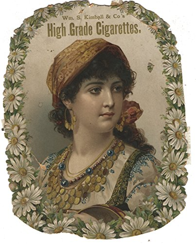 Wm. S. Kimball & Co's 19th Century Actress Cigarette Sign