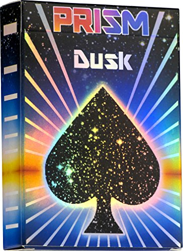 Elephant Playing Cards Prism Dusk Playing Cards - Incredible Rainbow UV Gloss Deck of Cards, Bright Rainbow Colors and Quality Second to None. Standard Poker Card Size and Indices by
