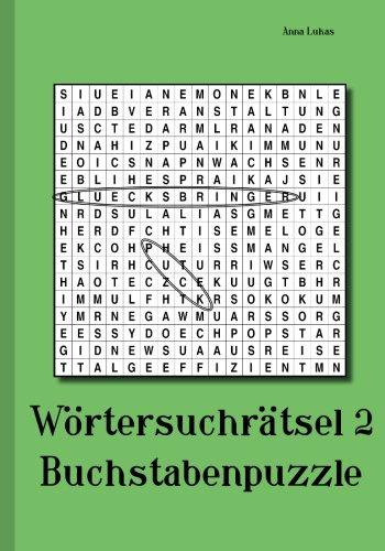 Wortersuchratsel 2: Buchstabenpuzzle  [Lukas, Anna] (Tapa Blanda)