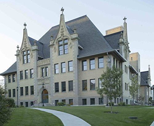 Photograph - Cristo Rey High School, a private school housed in a renovated building that was constructed in 1899 as Ohio School for the Deaf in Columbus, Ohio 44in x 32in (Best Private Schools In America 2019)