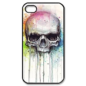 Skull iPhone 4/4s Case Black Yearinspace996326 hjbrhga1544