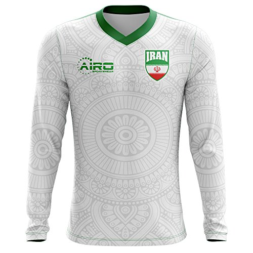 Airo Sportswear 2018-2019 Iran Long Sleeve Home Concept Football Shirt 9f497e461