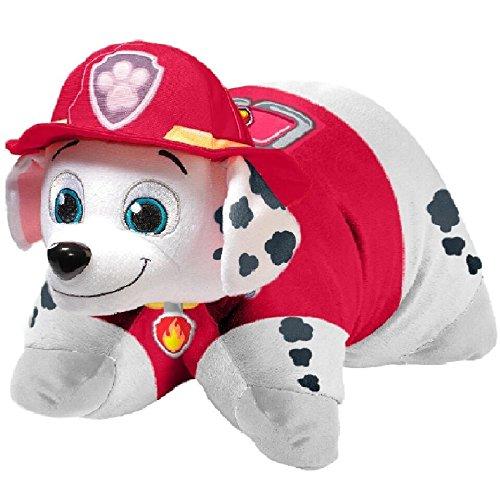 Nickelodeon Paw Patrol Pillow Pets Floor Pillow - Jumboz Marshall Stuffed Animal Plush (Trucks Floor Pillow)