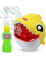 Kidzlane Shark Bubble Machine – Bubble Machine for Kids & Toddlers Outdoors – Kids Bubble Machine, Automatic Bubble Machine Blows 500 Bubbles Per Minute – Ages 3 Years and Up