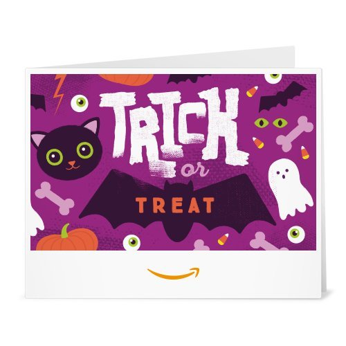 Amazon Gift Card - Print - Trick or Treat -