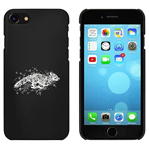 Noir 'Courir Renard' étui / housse pour iPhone 7 (MC00065813)