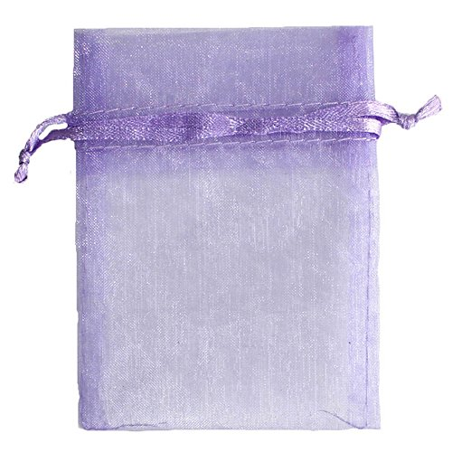 OurWarm 100pcs Organza Bags 3.5 x 4.7 Inch Gift Bags Organza