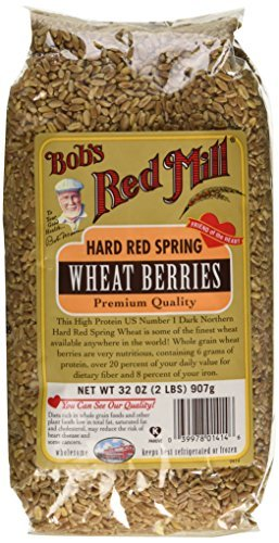 Hard Red Spring Wheat Berries, 32 oz (907 g) by Bob's Red Mill