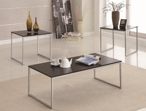 3pc-coffee-table-and-end-tables-set-with-wood-top-silver-metal-base