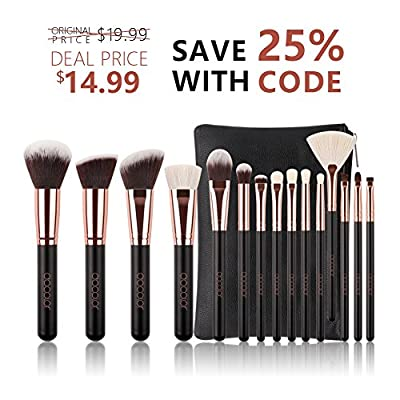 Docolor Makeup Brushes with bag