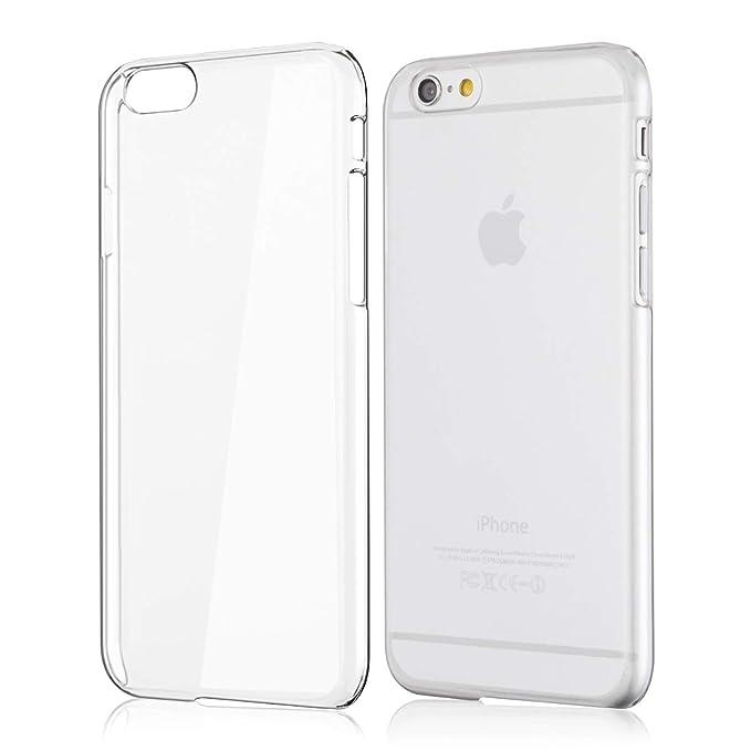 coque iphone 6 plastique dur transparent