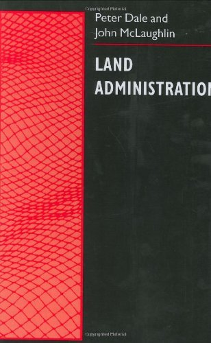 Land Administration (Spatial Information Systems and Geostatics Series) Pdf
