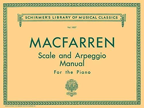 Scale and Arpeggio Manual: Schirmer Library of Classics Volume 1037 Piano Technique (Schirmer's Library of Musical Class