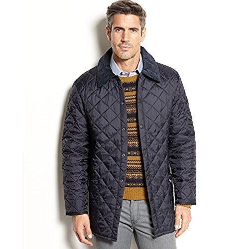 Barbour Mens Beauly Quilted Jacket Navy X-Large