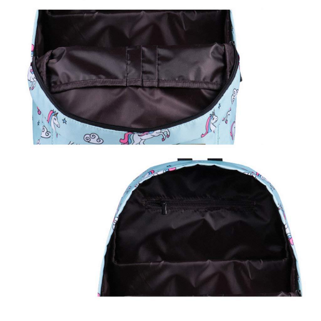 Mochila impermeable, mochila escolar impresa, bolsa de de bolsa viaje simple, mochila de gran capacidad 1ae731