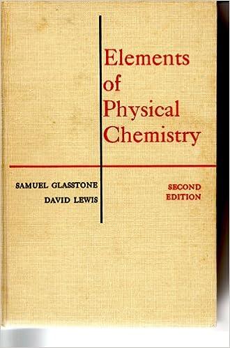 Physical Chemistry By Samuel Glasstone Pdf
