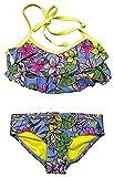 Roxy Girls' 2-piece Swim Set (14, Hot Tropics)