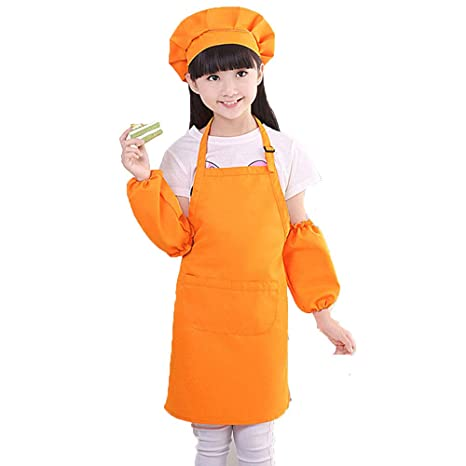 special sales really comfortable best sale Amazon.com: Jocab 3Pcs/set Kids Apron and Chef Hat Set, Boys ...