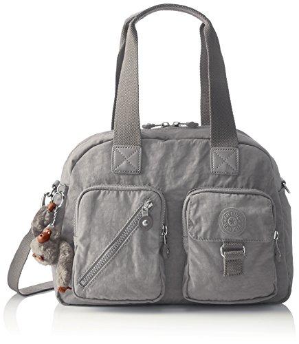 Kipling Defea, Women's Cross-Body Bag, Grey (Clouded Sky), 15x24x45 cm (W x H x L) (Kipling Handbags On Sale)