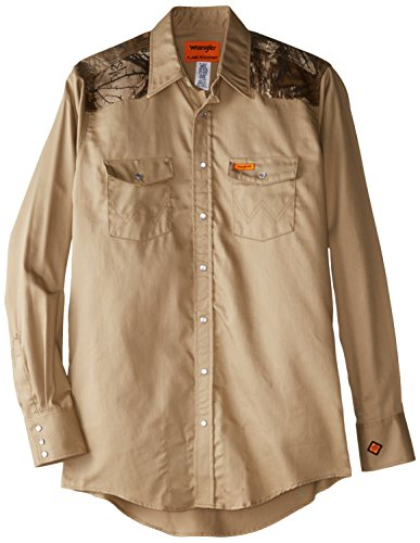 Wrangler Men's Big-Tall FR Lightweight Work Shirt