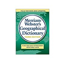 Merriam-Webster's Geographical Dictionary, 3rd Edition