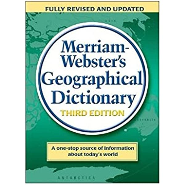 Merriam Webster S Geographical Dictionary 9780877795469 Daniel J Hopkins Books