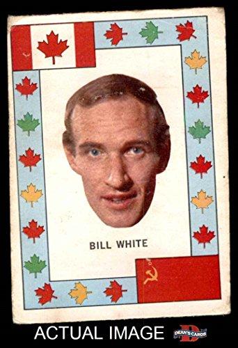 1972 O-Pee-Chee Team Canada # 28 Bill White Chicago Blackhawks (Hockey Card) Dean's Cards 2 - GOOD Blackhawks