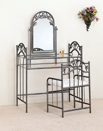 Coaster Home Furnishings 3pc Nickel Bronze Finish Vanity Set